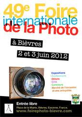49e Foire Internationale de la Photo - Bièvres - Les 2 et 3 juin 2012