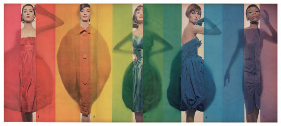Erwin Blumenfeld Rage for color Look du 15 octobre 1958
