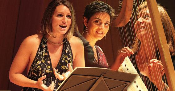 Voix De Femmes Troubadours, Céline Mistral - Sandra Hurtado-Ròs - Carole Matras © DR