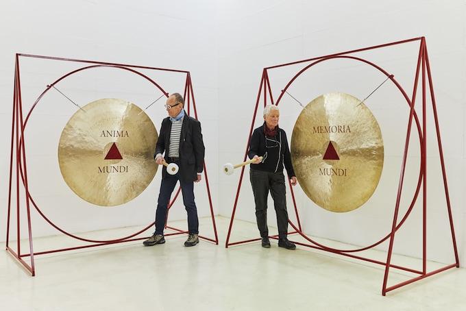 Les vibrations de l'âme. 2019, courtesy Galerie Mitterrand, Paris. © Anne & Patrick Poirier ADAGP Photo Jean-Christophe Lett