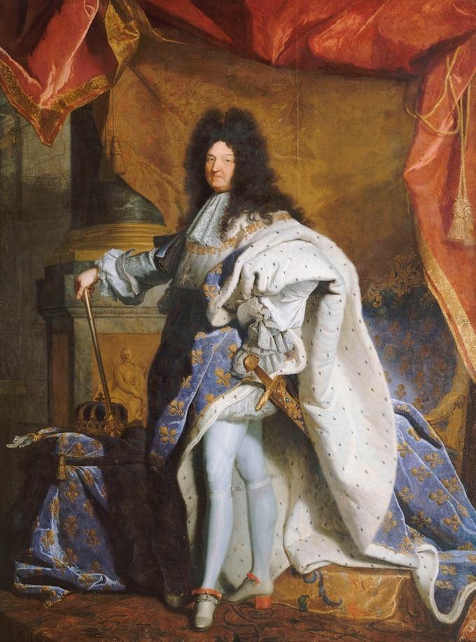 Louis XIV, roi de France (1638-1715), Atelier de Hyacinthe Rigaud, 1701, © château de Versailles / DR
