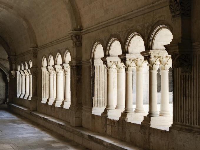 Abbaye de Montmajour © Geoffroy Mathieu - Centre des monuments nationaux