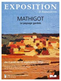Mathgot. Le paysage gardois de 1962 à 2012. Chapelle de l'Espace Lawrence Durell, Sommières (Gard) du 3 août au 15 septembre 2012