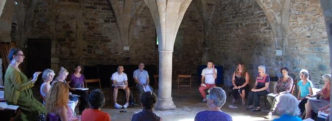 Abbaye de Sylvanès, stages de formation vocale