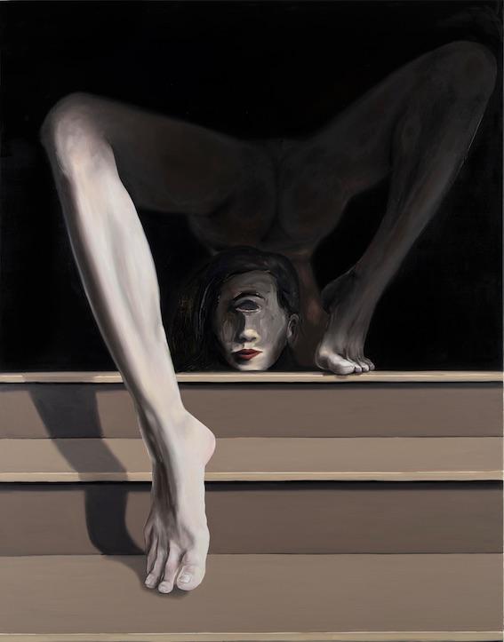 Stéphane Pencréac'h, L'Acrobate ou Nu descendant l'escalier, 2020, Courtesy Galerie Vallois