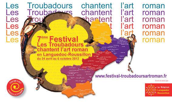 Festival Les Troubadours chantent les arts et la musique romane en Languedoc-Roussillon, jusqu'au 6 octobre 2012