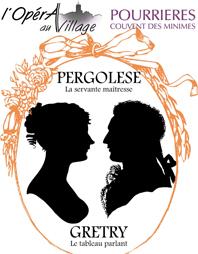 L'Opéra au village : Deux opéras…sinon rien ! à Pourrières, Var, du 16 au 24 juillet 2012