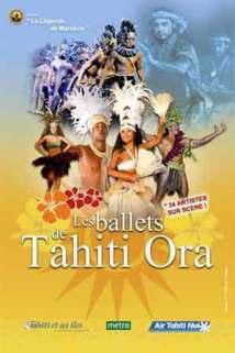 Les Ballets de Tahiti Ora à La Palestre au Cannet, 1er Février 2013 à 20h30
