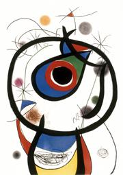 Miró et les arts graphiques, Musée PAB, Alès, du 5 juillet au 16 septembre 2012