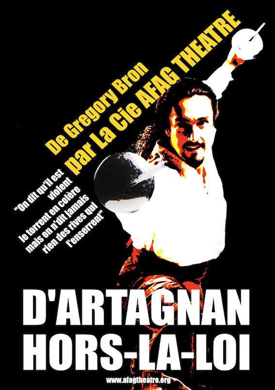 « D'Artagnan hors-la-loi », du théâtre hilarant au 24ème Festival National des Humoristes de Tournon le 28 août 2012