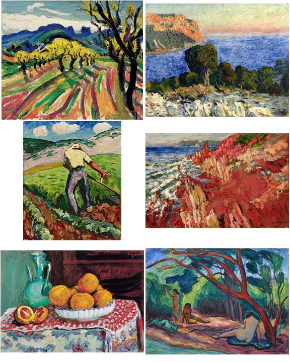 René Seyssaud, L'ivresse de la couleur. Palais des Arts, Marseille, du 14 juillet au 18 novembre 2012 à Marseille