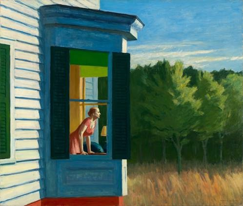 Hopper, Edward. Cape Cod Morning, 1950, huile sur toile. Smithsonian American Art Museum