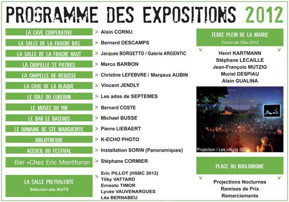 Les « Nuits photographiques de Pierrevert », Alpes de Haute-Provence, du 27 au 29 juillet 2012