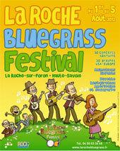 La Roche Bluegrass Festival,  La Roche sur Foron, du 1er au 5 août 2012, le plus grand festival de musique bluegrass en Europe