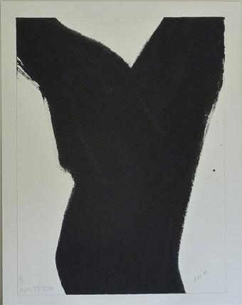 Jean-Baptiste Ambroselli, Chêne, 2004, gouache sur papier, 100x90cm
