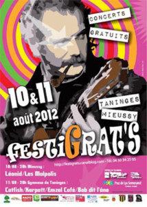 Festival FestiGrat's, à Taninges – Mieussy les 10 et 11 août 2012