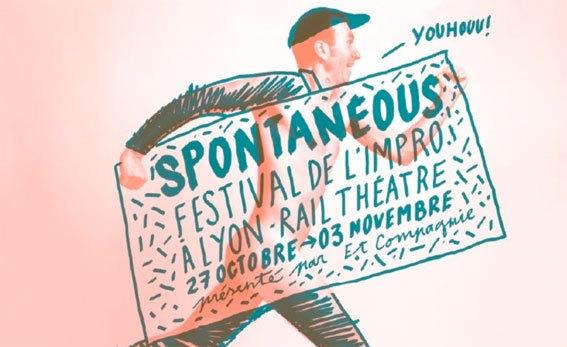 Festival d'improvisation SPONTANéOUS 8ème édition, Lyon, du 27 octobre au 3 novembre 2012