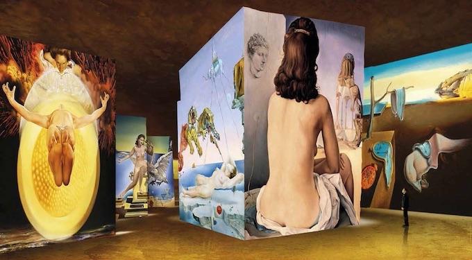 © Salvador Dalí, Fundació Gala-Salvador Dalí, ADAGP 2020 Culturespaces / Nuit de Chine