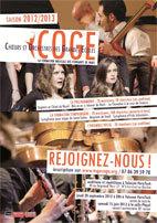 Le COGE Choeurs Orchestres Grandes Ecoles recrute !