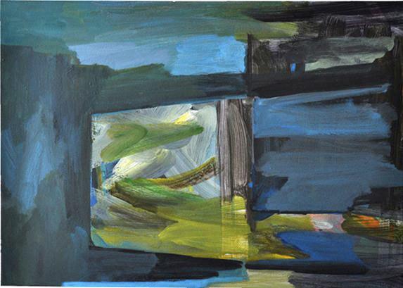 Lise Roussel,  Sans titre, acrylique sur papier 96x89 cm.jpg