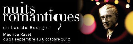 Nuits Romantiques du Lac du Bourget du 21 septembre au 6 octobre 2012