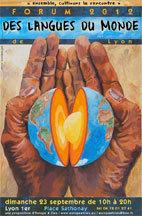 Forum des Langues du Monde de Lyon, le 23 septembre  2012