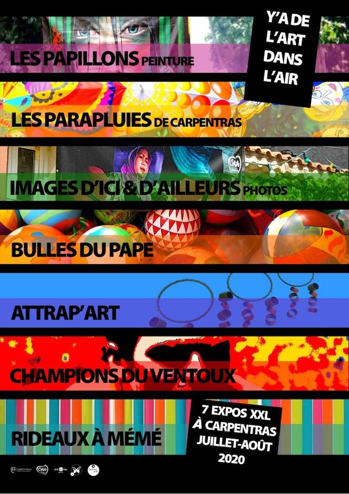 Carpentras, expos Y'a de l'Art dans l'Air