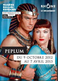 Peplum, du 9 octobre 2012 au 7 avril 2013, Musée gallo-romain de Lyon - Fourvière et Musée gallo-romain de Saint-Romain-en-Gal - Vienne