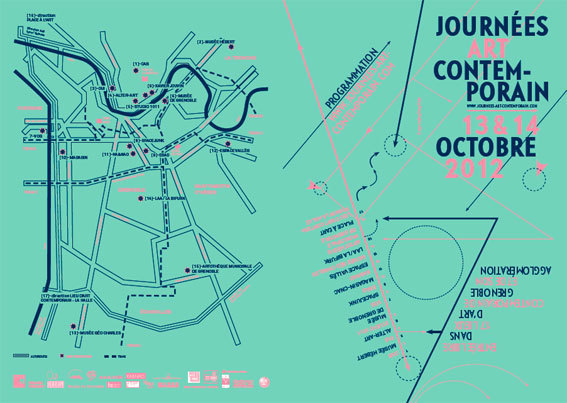 Journées Art Contemporain 2012 en région de Grenoble, les samedi 13 et dimanche 14 octobre 2012
