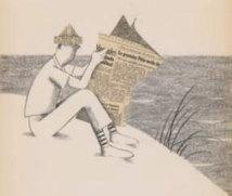 « Mr Hulot s'expose », Dessins originaux de David Merveille, Galerie Petits Papiers Illustrations, Paris, du 27 septembre au 19 octobre 2012