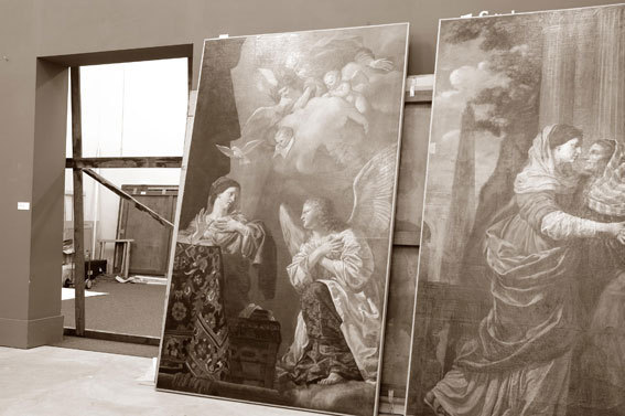 Michel Eisenlohr : D'un Palais à l'autre... Une vision du Palais Longchamp de Marseille. Musée des Beaux Arts-Palais Carnolès, Menton, du 29 septembre 2012 au 7 janvier 2013