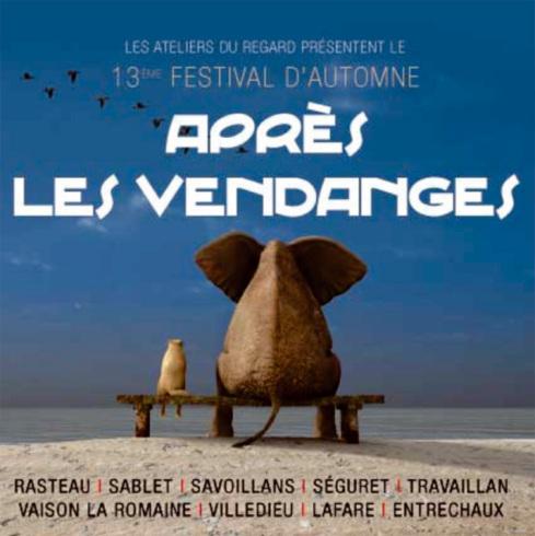 13e Festival d'automne « Après les Vendanges… », Vaison-la-Romaine et région, du 31 octobre au 8 décembre 2012