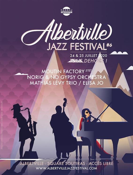 Programme Albertville Jazz Festival 2020