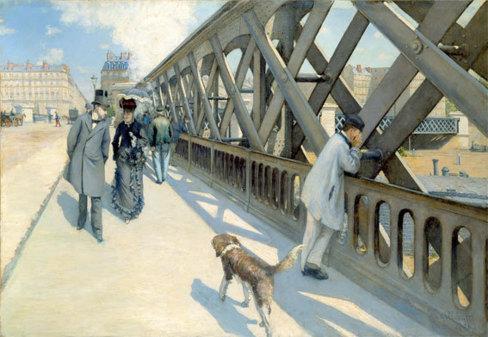 Gustave Caillebotte - Le Pont de l'Europe - oil on canvas - 125 x 180 cm - (c) Association des Amis du Petit Palais, Geneve - Photo: (c) Studio Monique Bernaz, Geneve