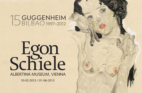 Egon Schiele. Œuvres de l'Albertina Museum, Vienne, au Guggenheim Museum Bilbao du 2 octobre 2012 au 6 janvier 2013