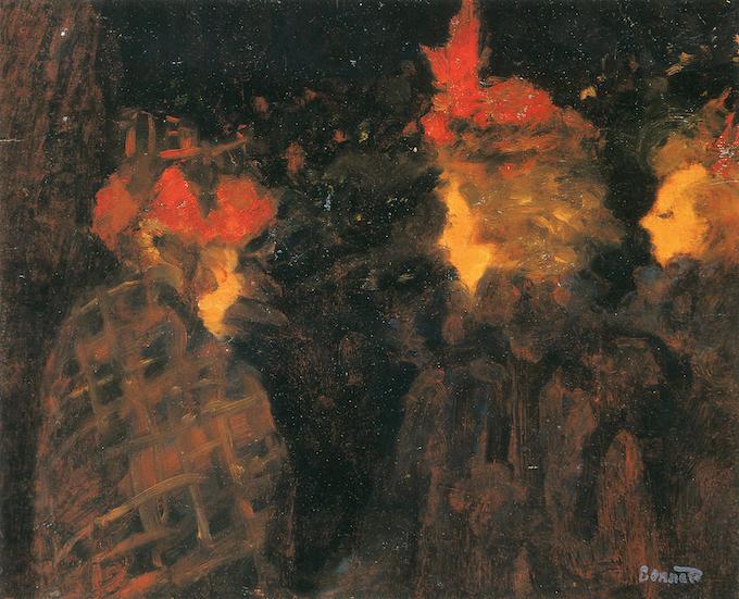 Bonnard, Les chapeaux rouges