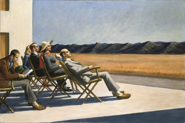 Edward Hopper. People in the Sun, 1960 © 2011 Photo Smithsonian American Art Museum / Art resource / Scala Florence