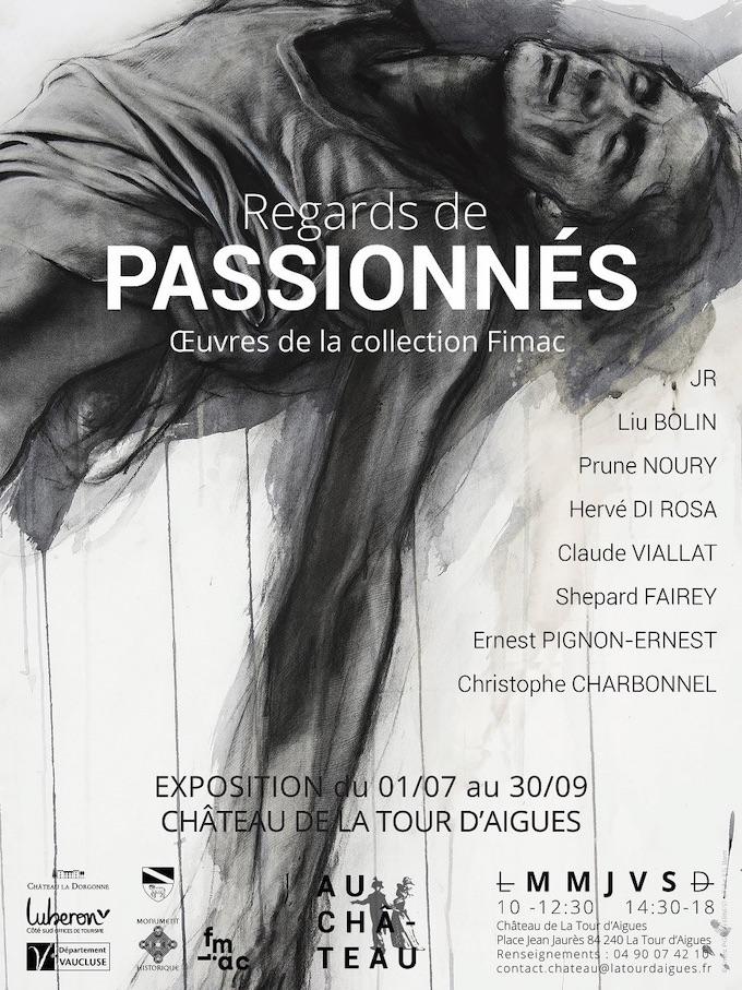 Château de La Tour d'Aigues, exposition Regards de passionnés - Œuvres de la collection Fimac du 1er juillet au 30 septembre 2020