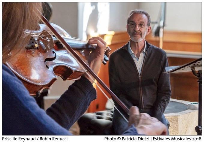 Mozart et la pluie. Spectacle de performance musicale avec Robin Renucci, 3 et 4/11/20 au théâtre de Villefranche sur Saône