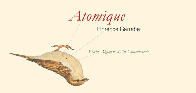 Atomique ou l'éternel pendant de la dévastation, une œuvre inédite de Florence Garrabé, Vitrine Régionale d'Art Contemporain, Millau, du 13 octobre au 9 décembre 2012