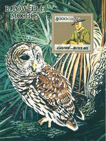 Powell and Owl, 2011, Filipa César. Timbre trouvé. Courtesy de l'artiste