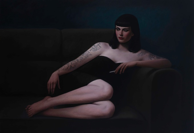 Sans titre - Huile sur toile, 162 x 114 cm