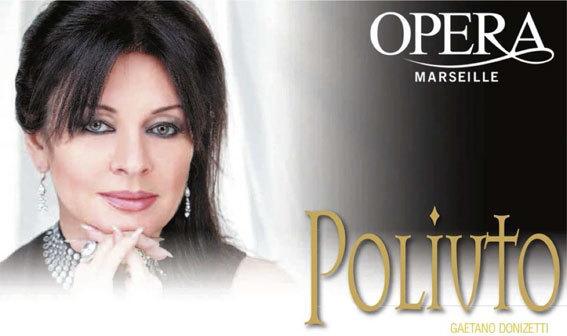 Poliuto, de Donizetti, d'après Polyeucte de Pierre Corneille, Opéra de Marseille, 24 novembre au 2 décembre 2012