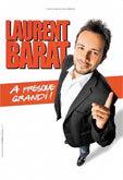 Laurent Barat et Stéphanie Paréja en spectacle à Cannes le 17 novembre 2013