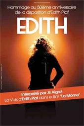 Edith interprété par Jil Aigrot en concert, Palais des Congrès de Digne Les Bains, dimanche 23 Décembre 2012 à 15h