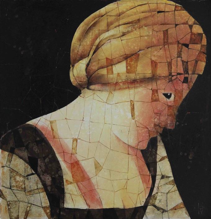 La Servante, 79 cm x 76 cm © Jean-Philippe Vallon