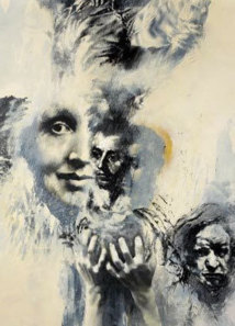 Jo Vargas – Extrait – Acrylique sur toile 2011