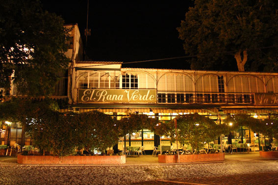 Restaurant El Rana Verde (La Grenouille Verte) © Pierre Aimar