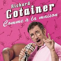 Richard Gotainer, « Comme à la maison », Espace Culturel, Vaison-la-Romaine, 10 novembre 2012