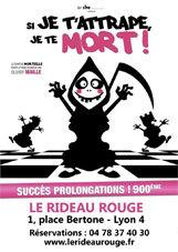 Programme novembre et décembre 2012 du théâtre Le Rideau Rouge, Lyon